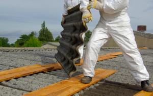 traitement amiante toit 1997 danger sante mulhouse